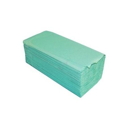 Ręcznik ZZ zielony 4000 szt.