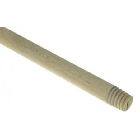 Kij z gwintem drewniany 120 cm