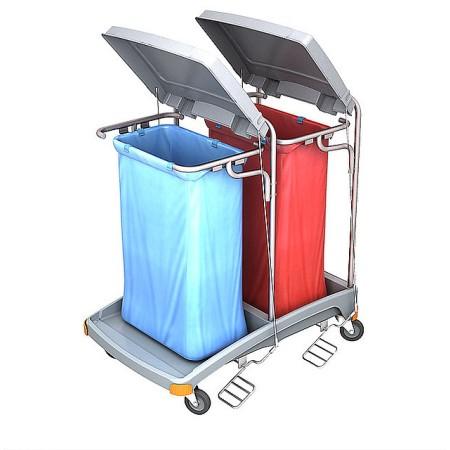Splast - Wózek na odpady z...
