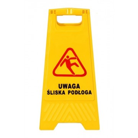 Tablica ostrzegawcza UWAGA...