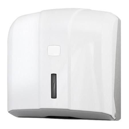 Biały dozownik ABS ręcznika ZZ