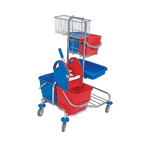 Splast - Wózek chromowany Roll Mop 02.20. KW CH
