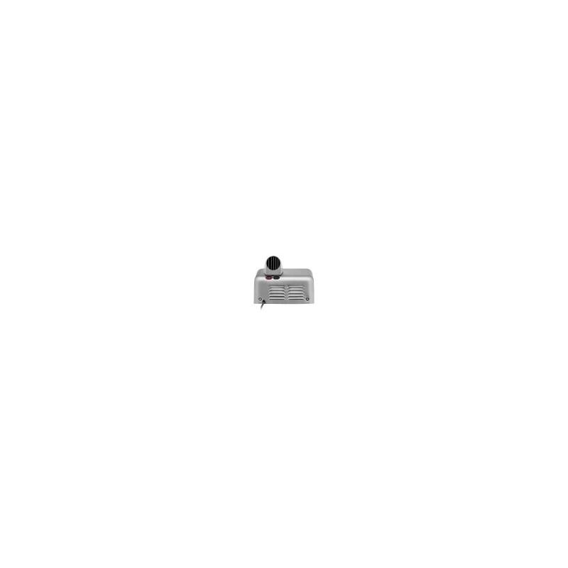 Suszarka basenowa z wężem biała stal